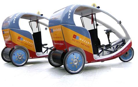 Ecocabs Dublin велотакси