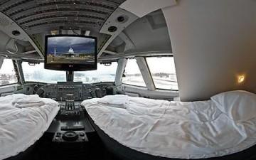 Отель в Боинге 747