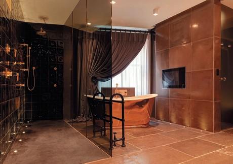Ванная комната дома на Даун-стрит