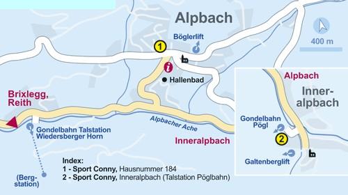 Альпбах - как проехать