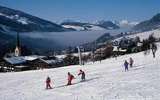 Австрийский горнолыжный курорт Альпбах - церковь