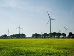 Ветрогенераторы - особенность природного ландшафта Германии
