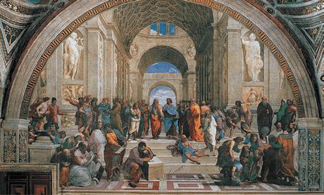 Фреска в музее Ватикана