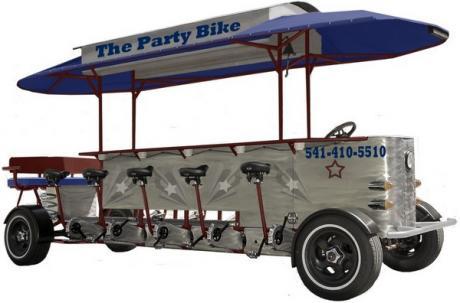 Пивной бар на колесах